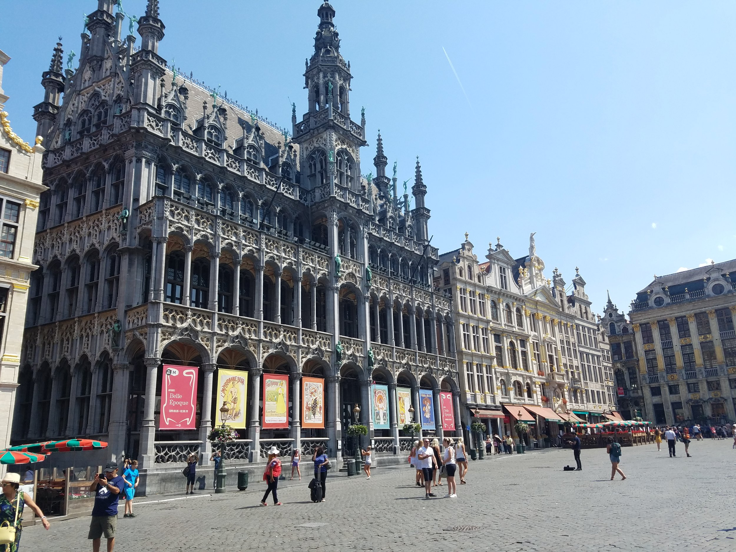 The Grote Markt of Brussels is the most opulent and beautiful we have seen so far!