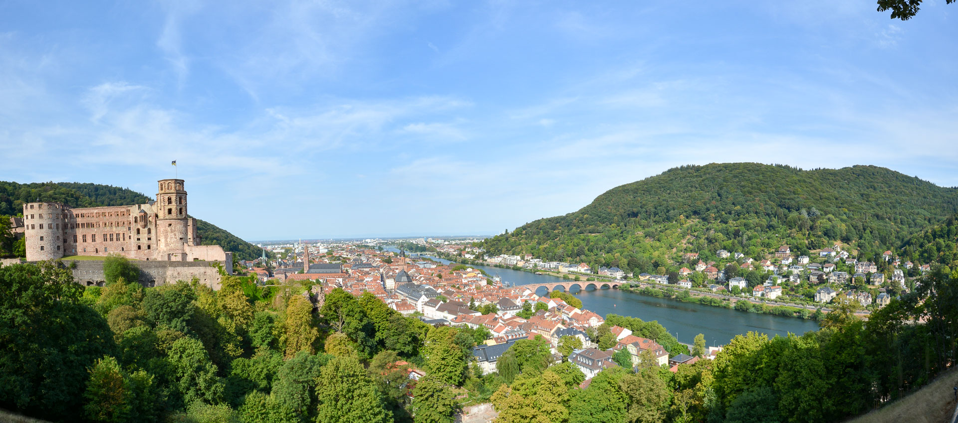 Heidelberg Schloss and Old Town