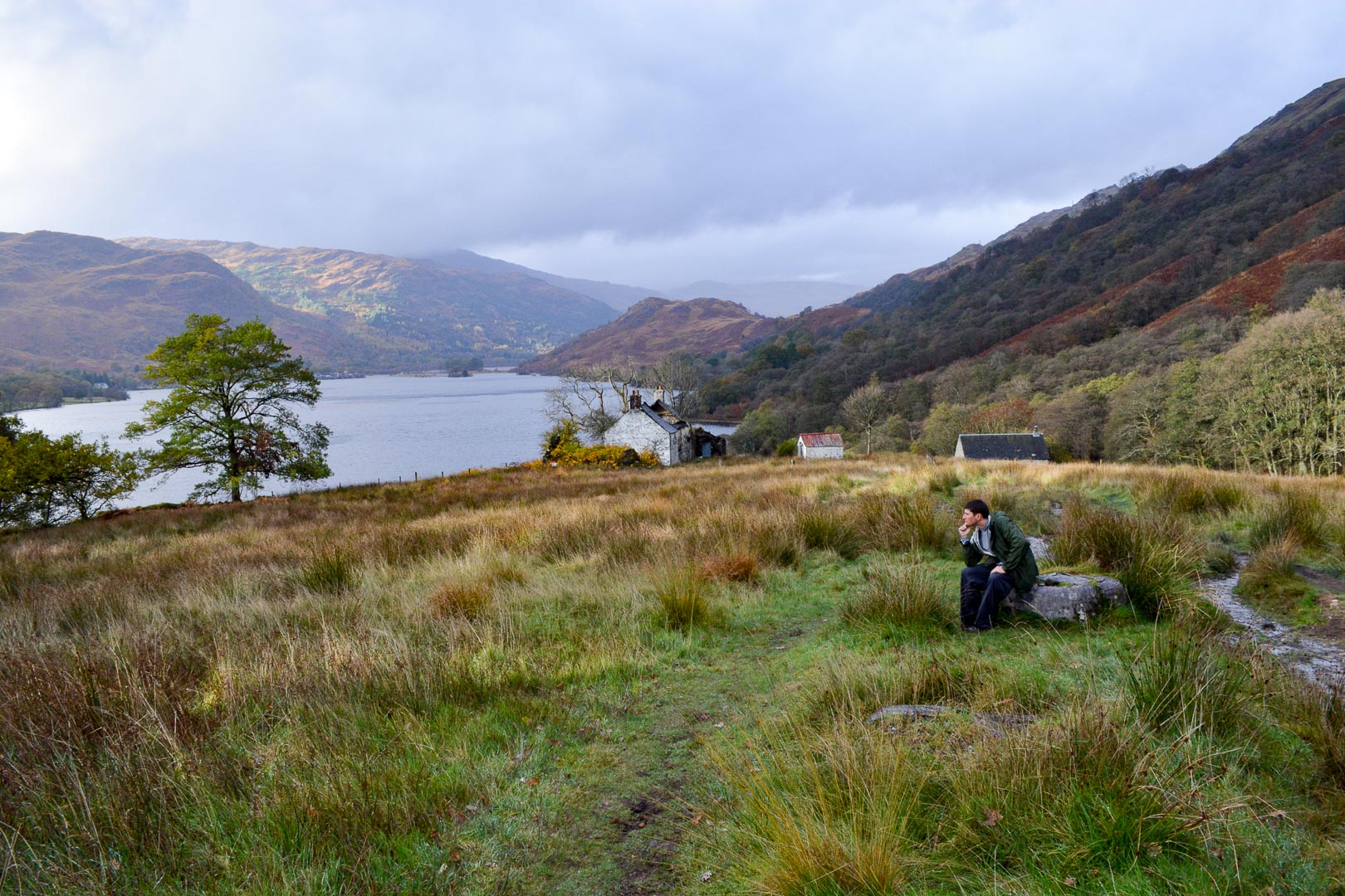 Pondering if we will ever reach the end of Loch Lomond