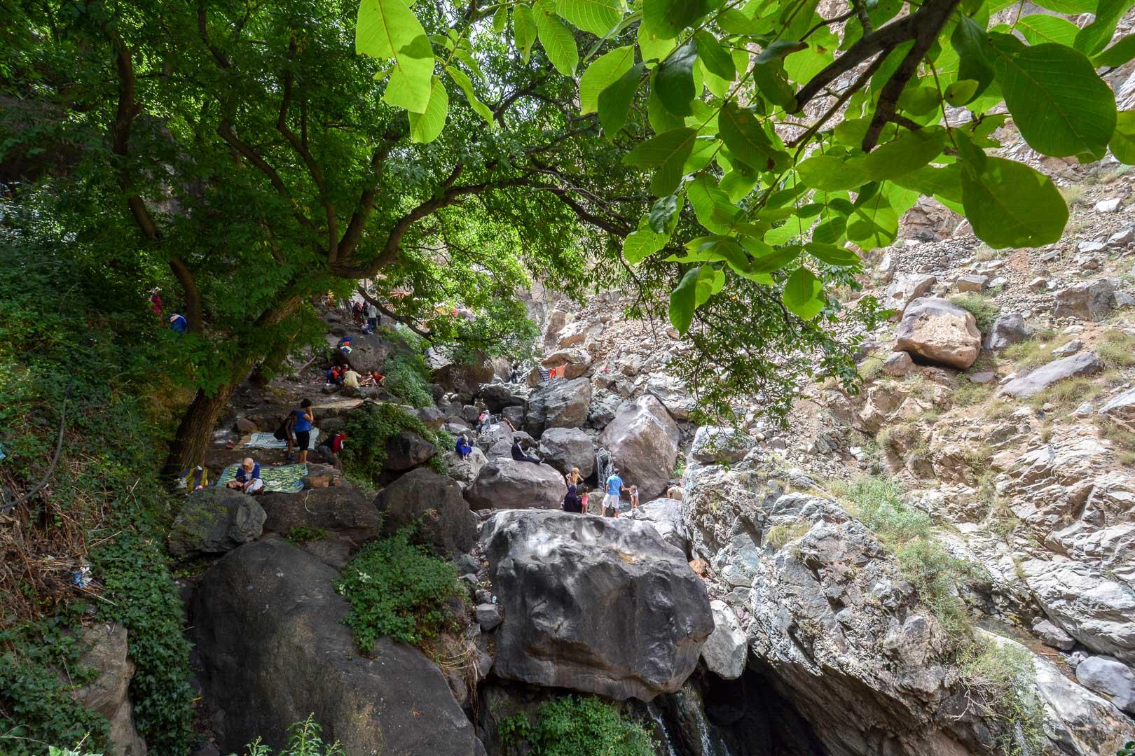 Picnics along the trail