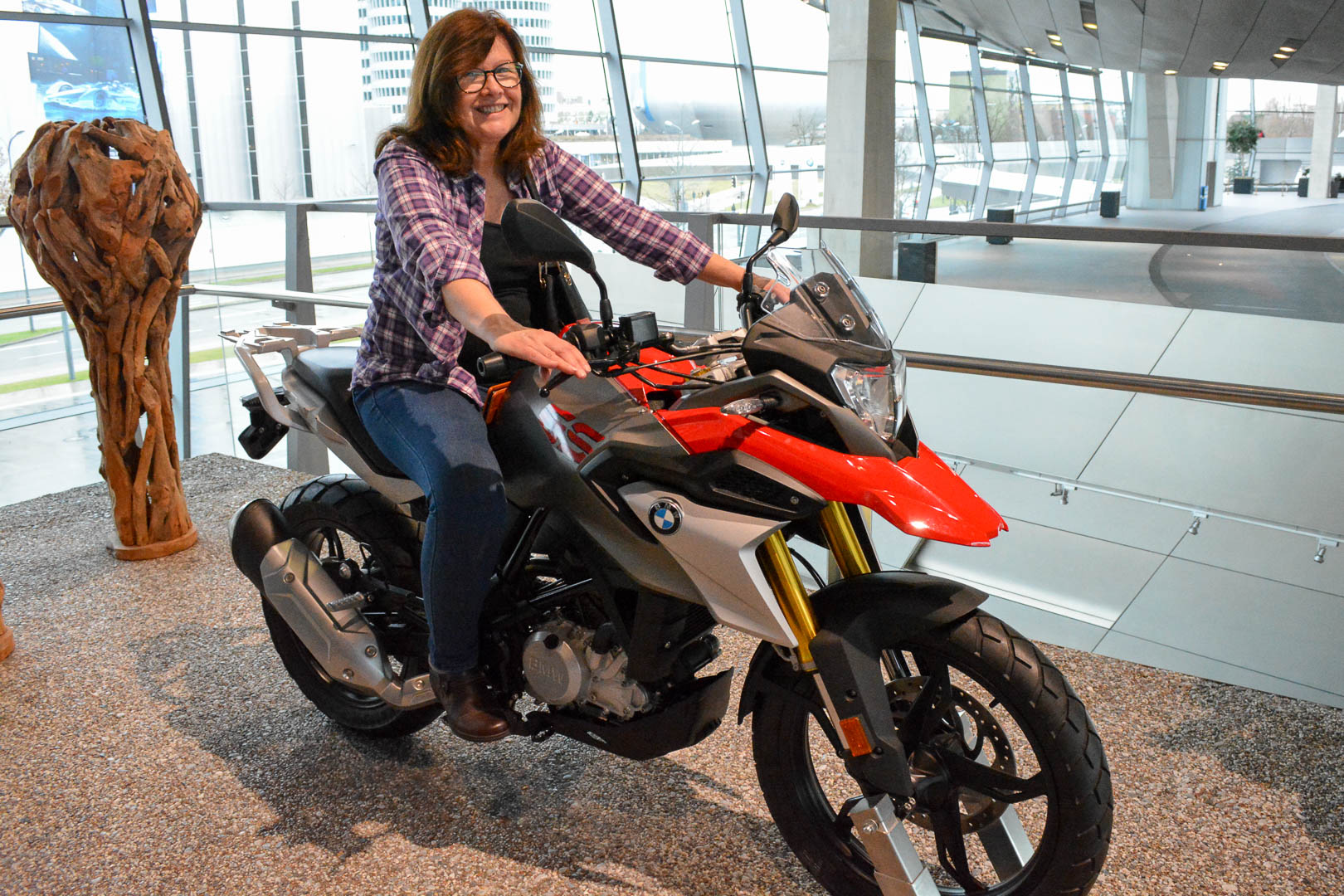 Mom found her dream bike! It suited her really well