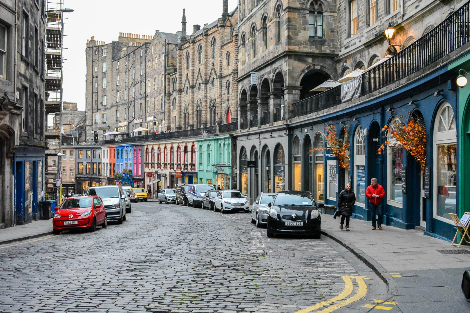 Victoria Street, the inspiration for Diagon Alley!
