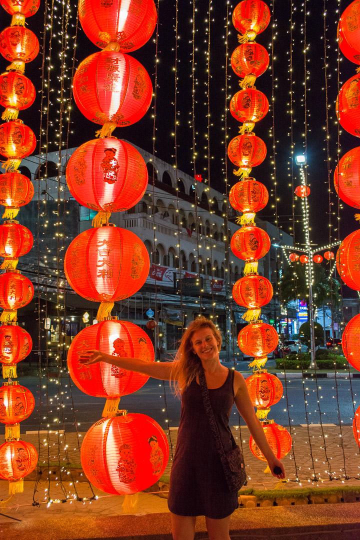 We were here around Chinese New Year