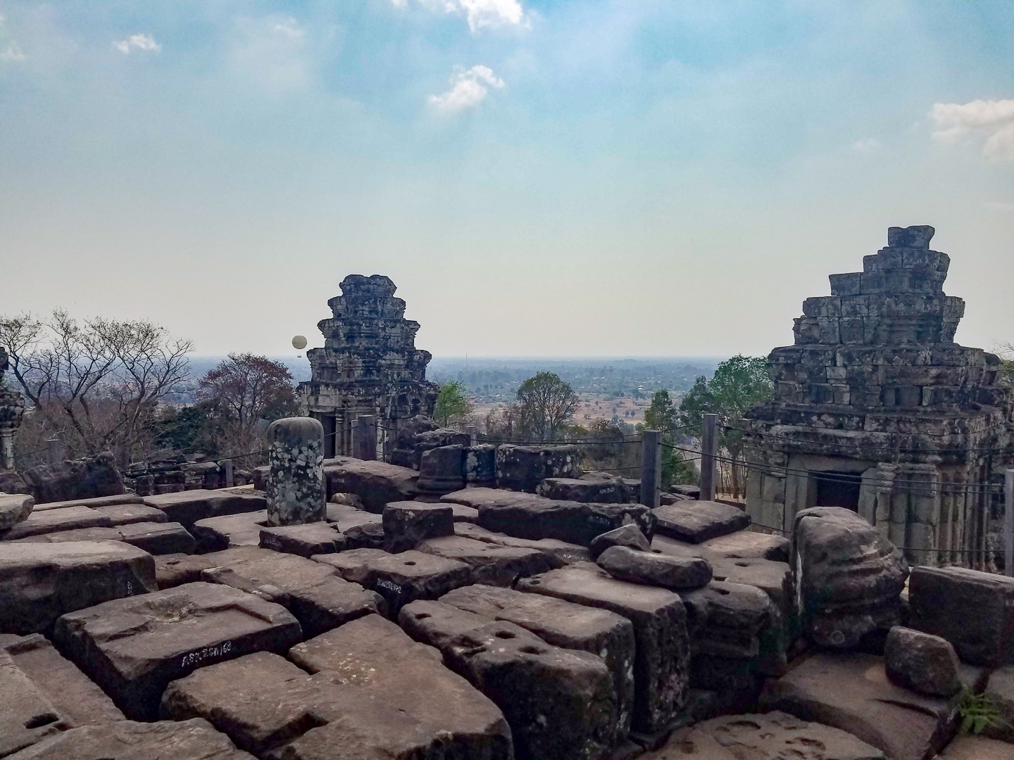 View from top of Phnom Bakheng