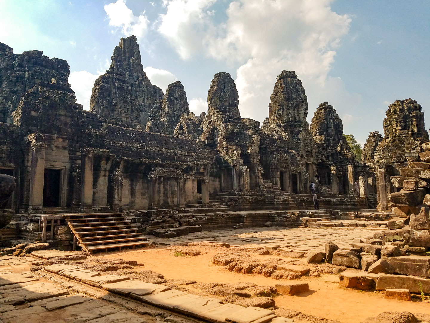 Bayon Temple our favorite!!!!!!!