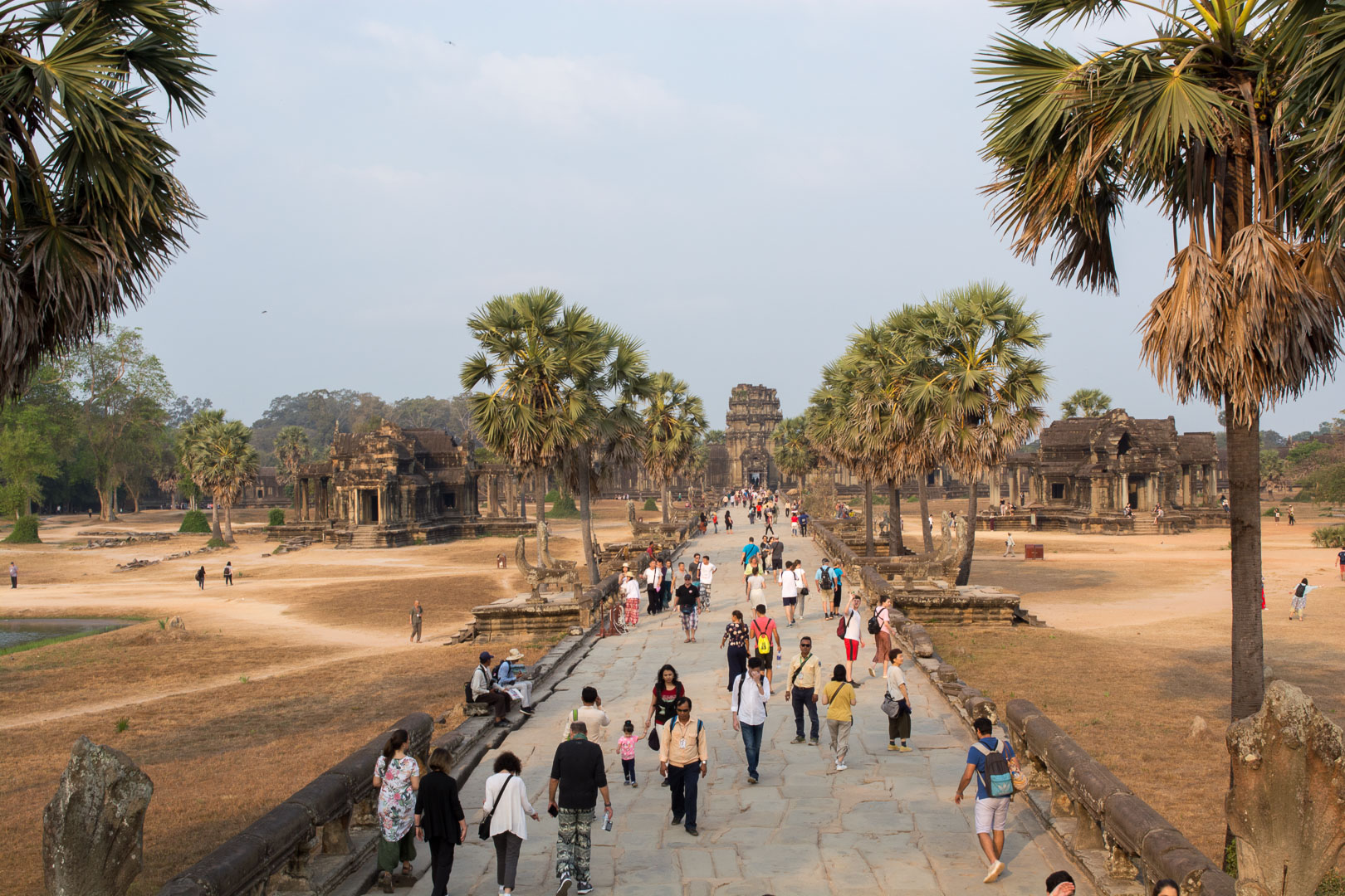 Front Courtyard of Angkor Wat
