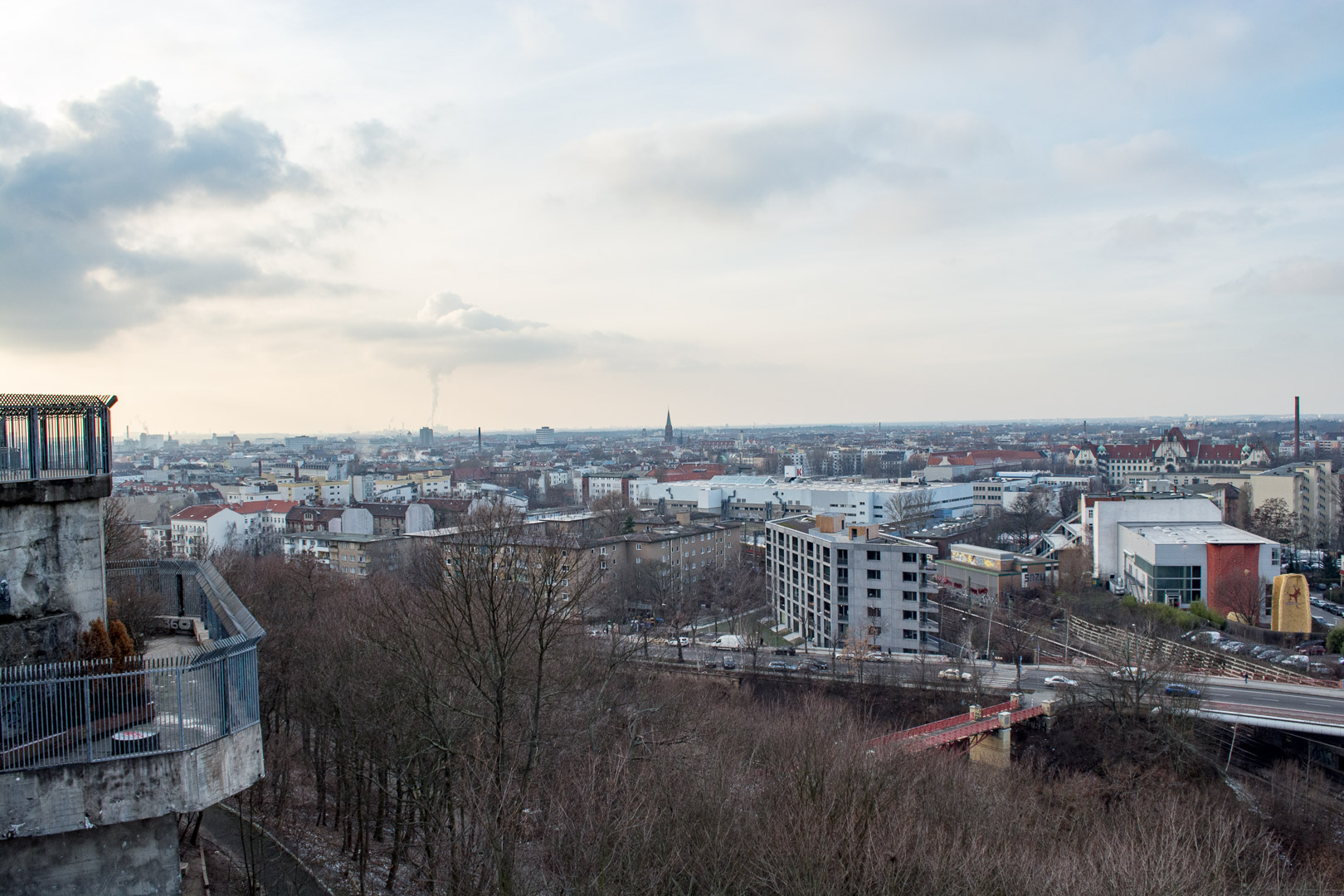 View of Berlin from the top