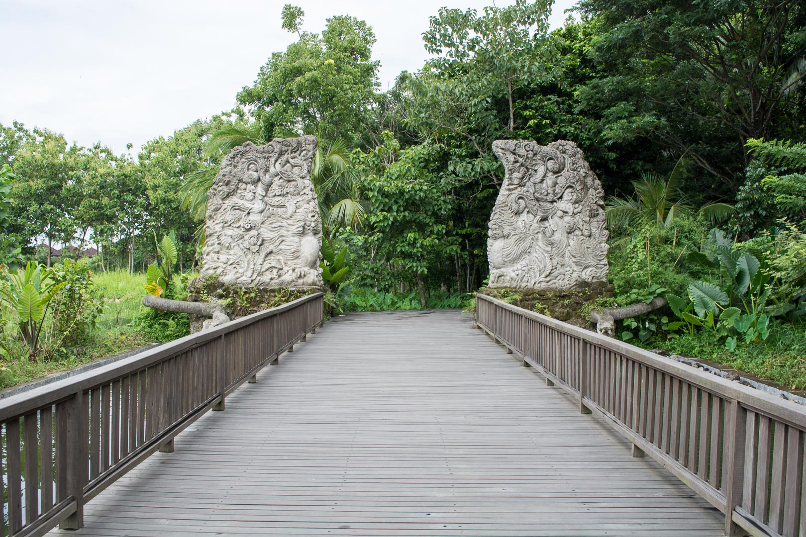Monkey Forest entrance