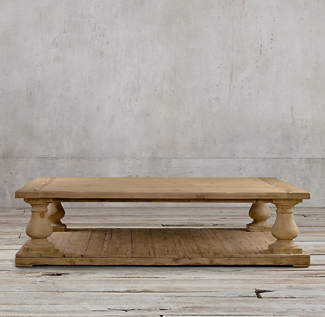 Salvaged Wood Coffee Table