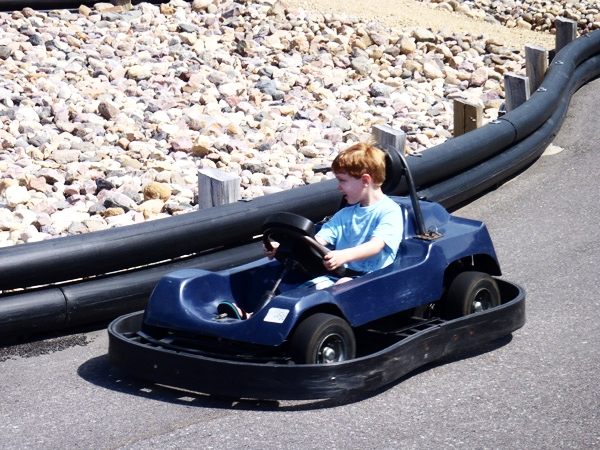 Driving your own car is always a hit at Amusement Parks