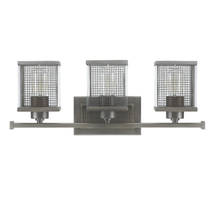 Lower Level Bath -  Carson 3 Light Fixture