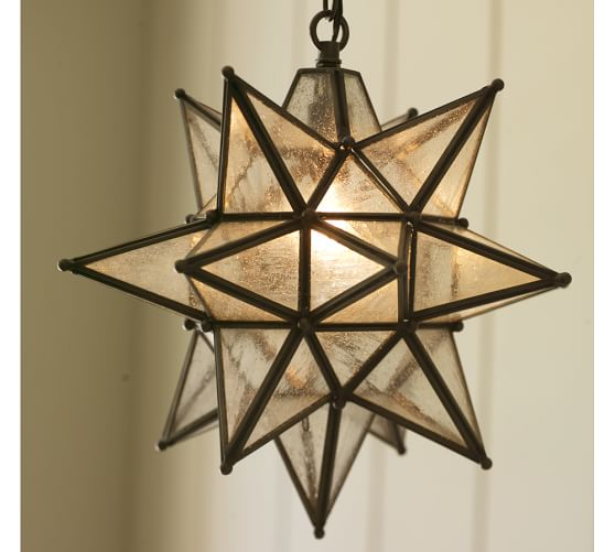 Front Porch -  Pottery Barn Olivia Star Indoor/Outdoor Pendant