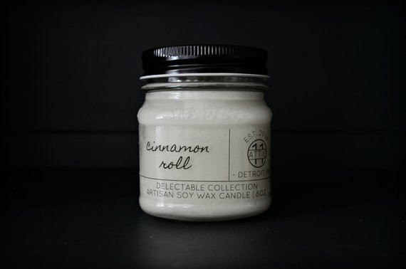 A candle by Attic Eleven