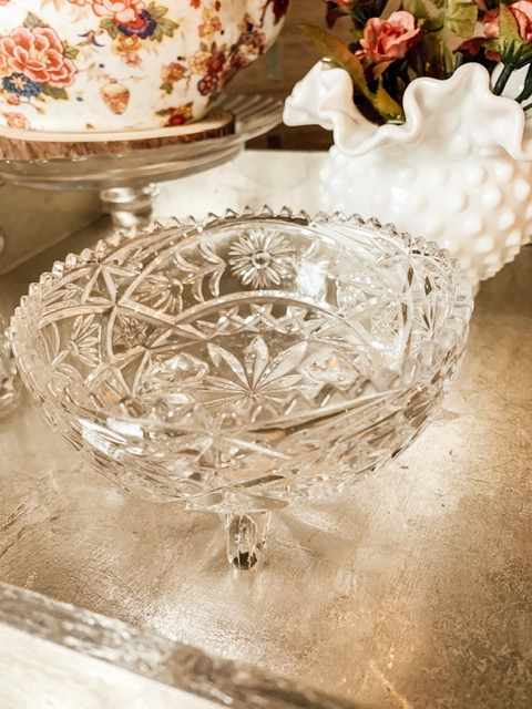 Crystal bowl ($3.99)