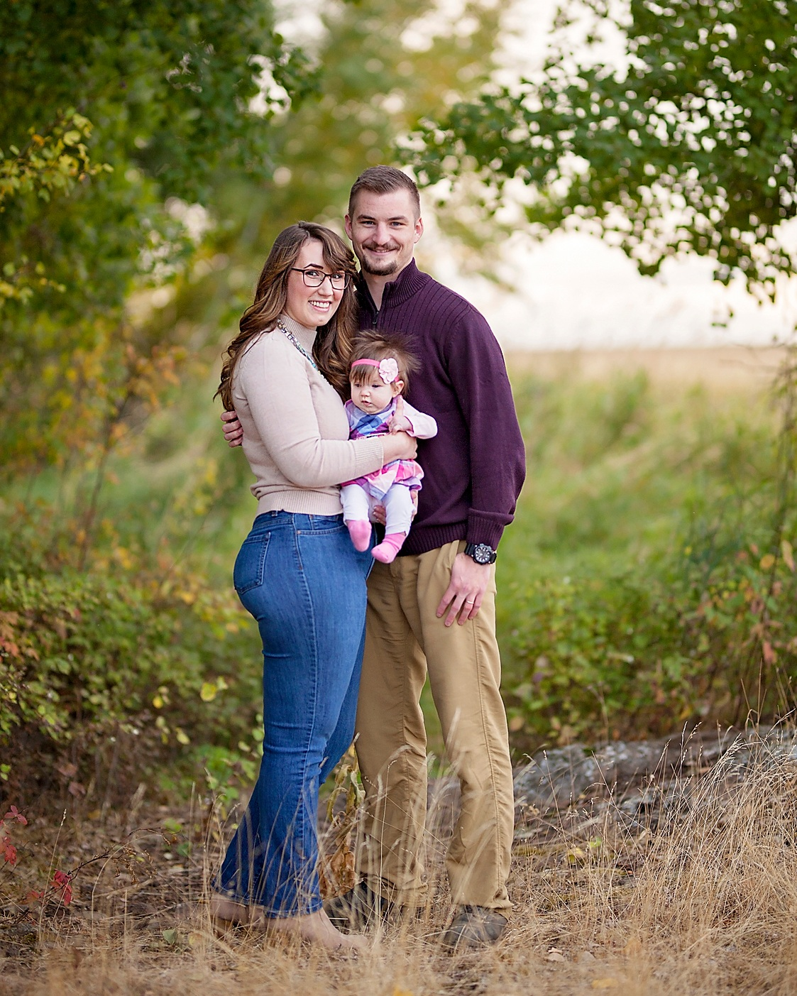 Spokane family pictures in nature by Nate Robinson Photography