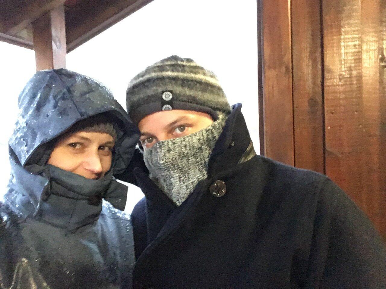 Lauren and Lee Turpin in Iceland, 2016