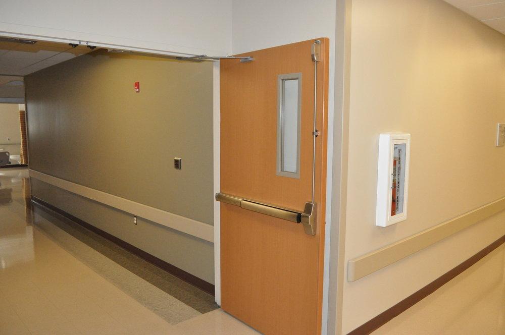 Acrovyn Doors