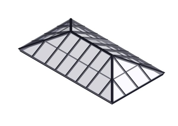 Extended Pyramid</br>Glass, Hurricane Rated or Polycarbonate Available