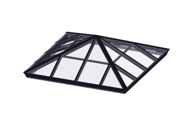 Square Pyramid</br>Glass, Hurricane Rated or Polycarbonate Available