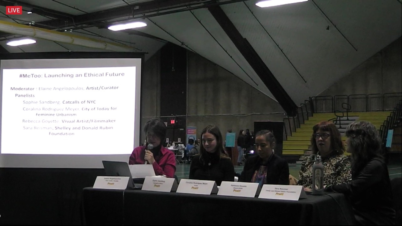 Sophie spoke on a panel titled #MeToo: Building an Ethical Future organized by Pratt University in Brooklyn, NY.