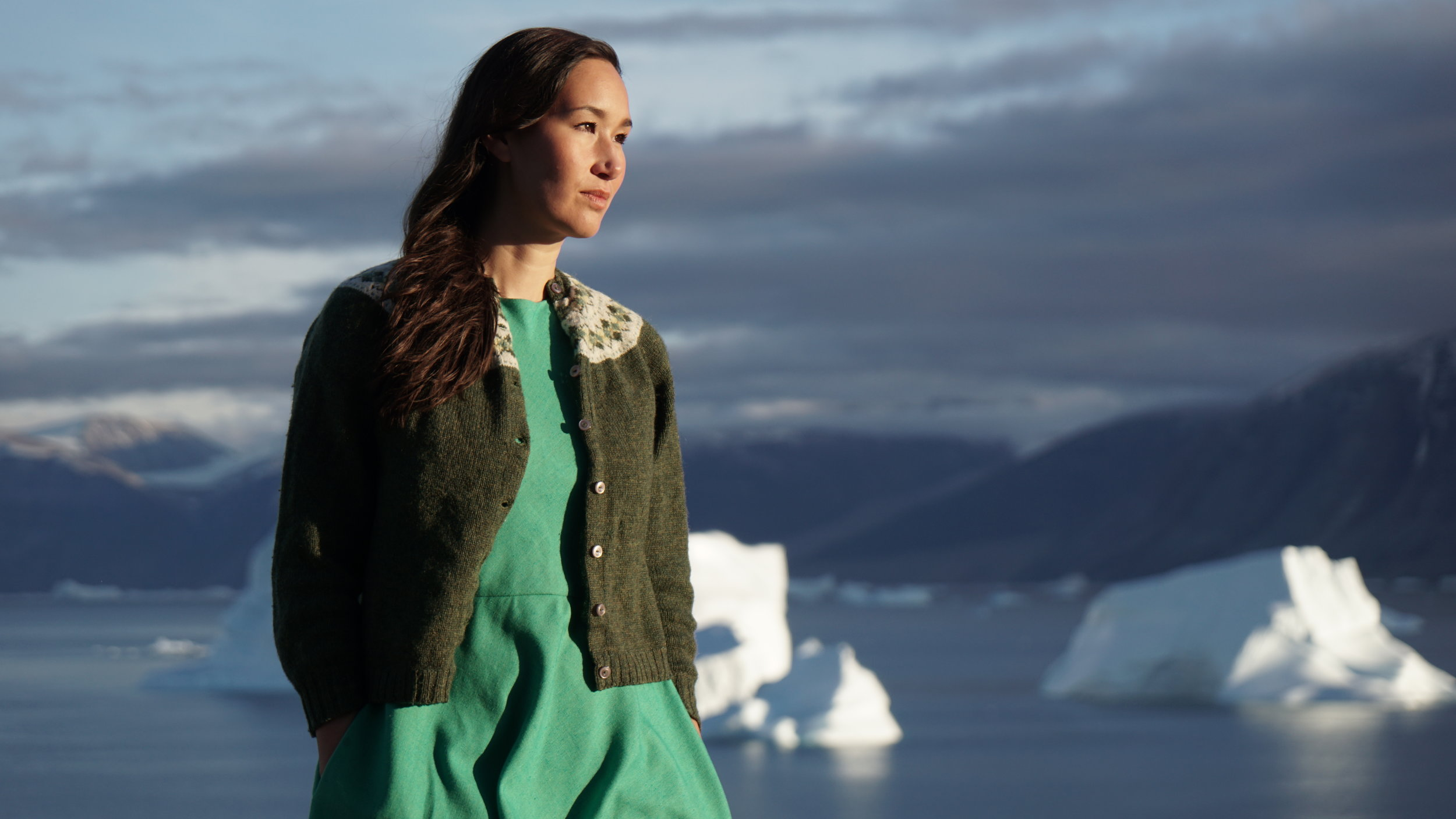 NIVE NIELSEN PUTS GREENLAND ON THE MUSICAL MAP - Nive Nielsen quickly gained attention for her beautiful voice and the charming Inuit indie rock and folk songs of her band, Nive & The Deer Children.