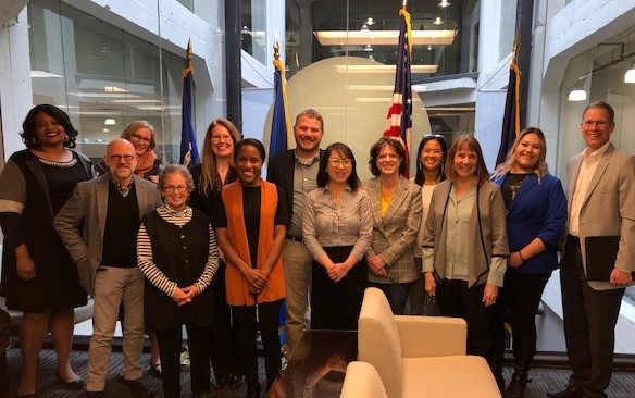 MACS 2020 Meets with Senator Tina Smith's Office - March 2019