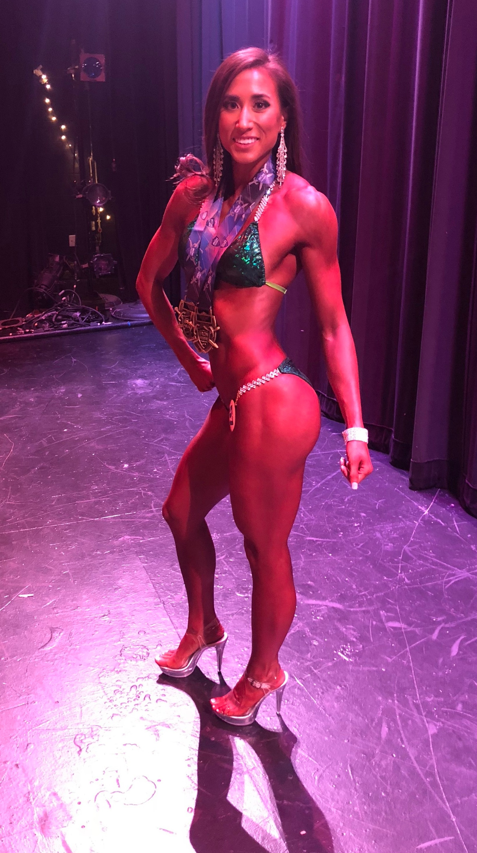 Qualifying for Nationals at my first NPC Bikini Show was an amazing experience.