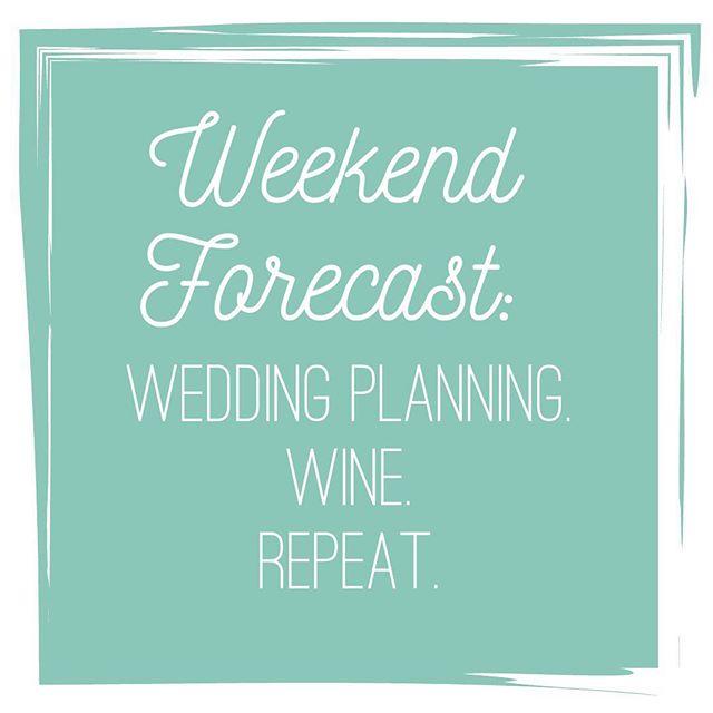 Plan. Wine. Repeat. 👰🏼🍷🔁 #yougotthis #planninglife #engaged #isaidyes #weddingseason #weddinginspo