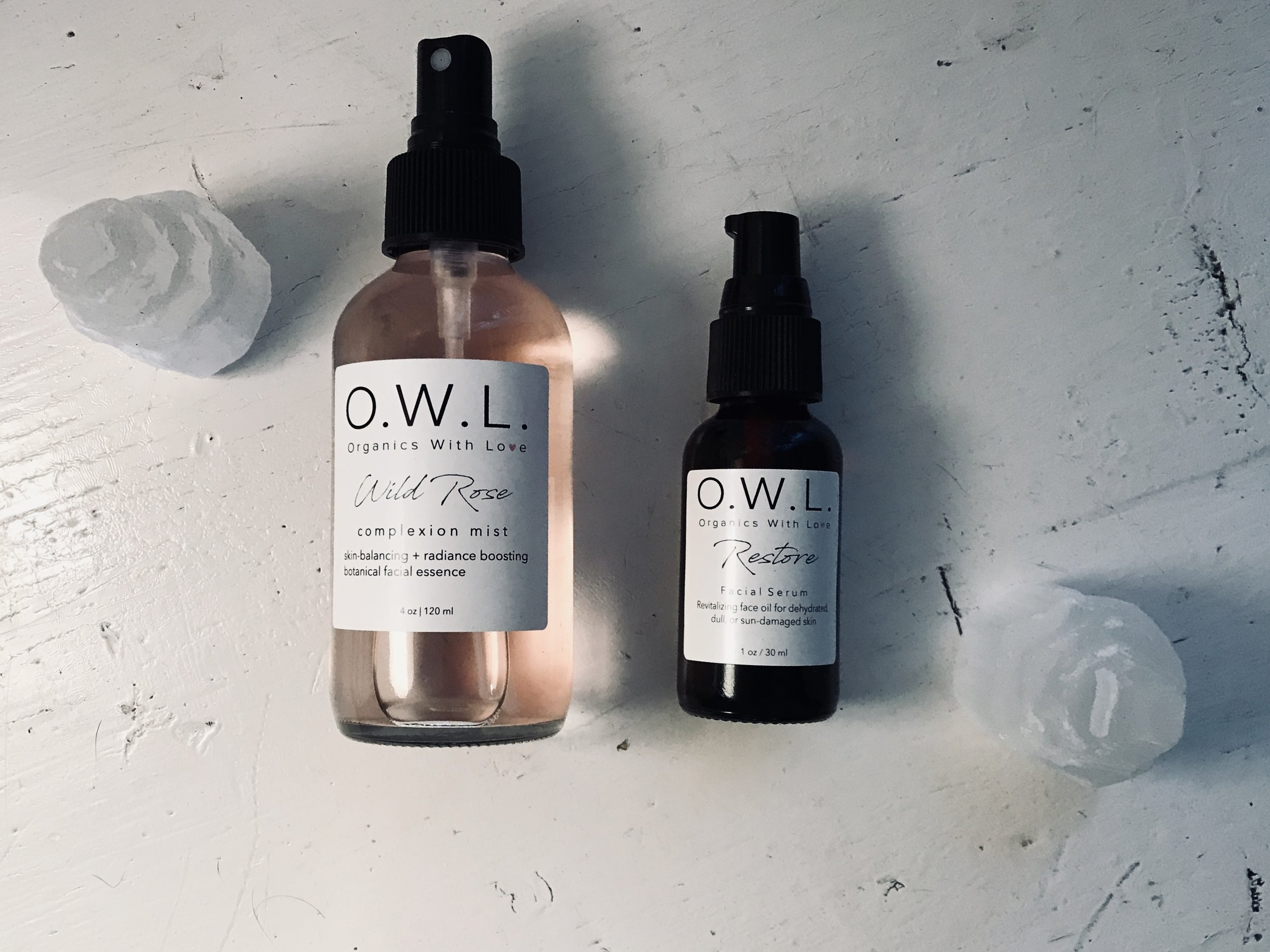 our recommendations: - Element Cleansing Oil + Purity Cleansing Water + Wild Rose Complexion Mist + Restore Age-Defying Serum.While our entire collection works synergistically with the skin to bring you the best results, this trio will enhance your natural glow and encourage your daily self-care practice.