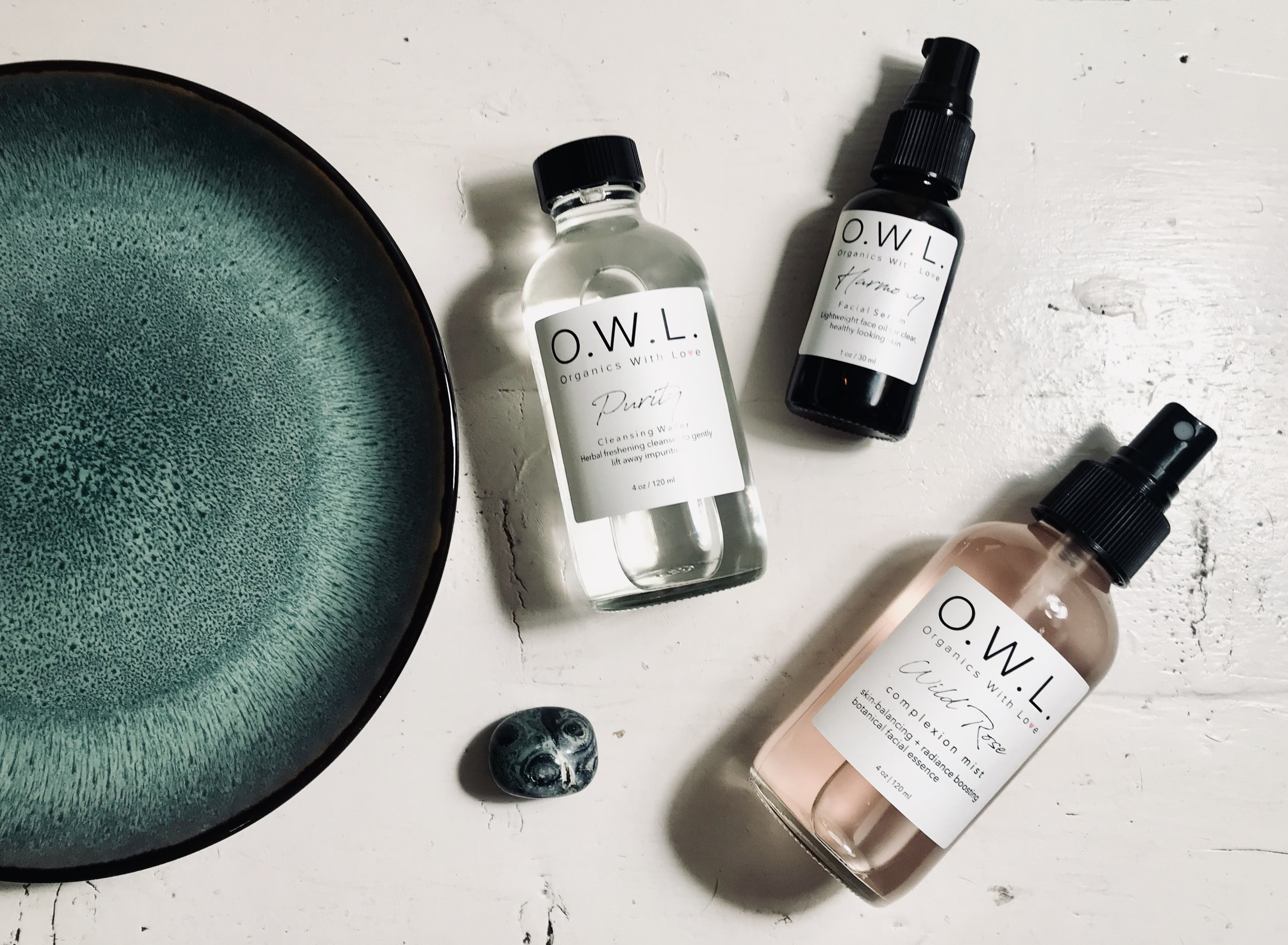 our recommendations: - Purity Cleansing Water + Wild Rose Complexion Mist + Harmony Balancing Serum.While our entire collection works synergistically with the skin to bring you the best results, this trio will enhance your natural glow and encourage your daily self-care practice.