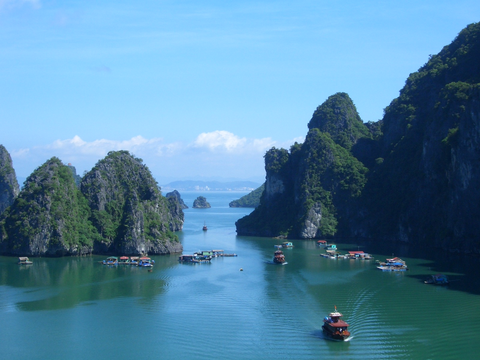 Halong Bay (outside Ho Chi Minh, Vietnam)