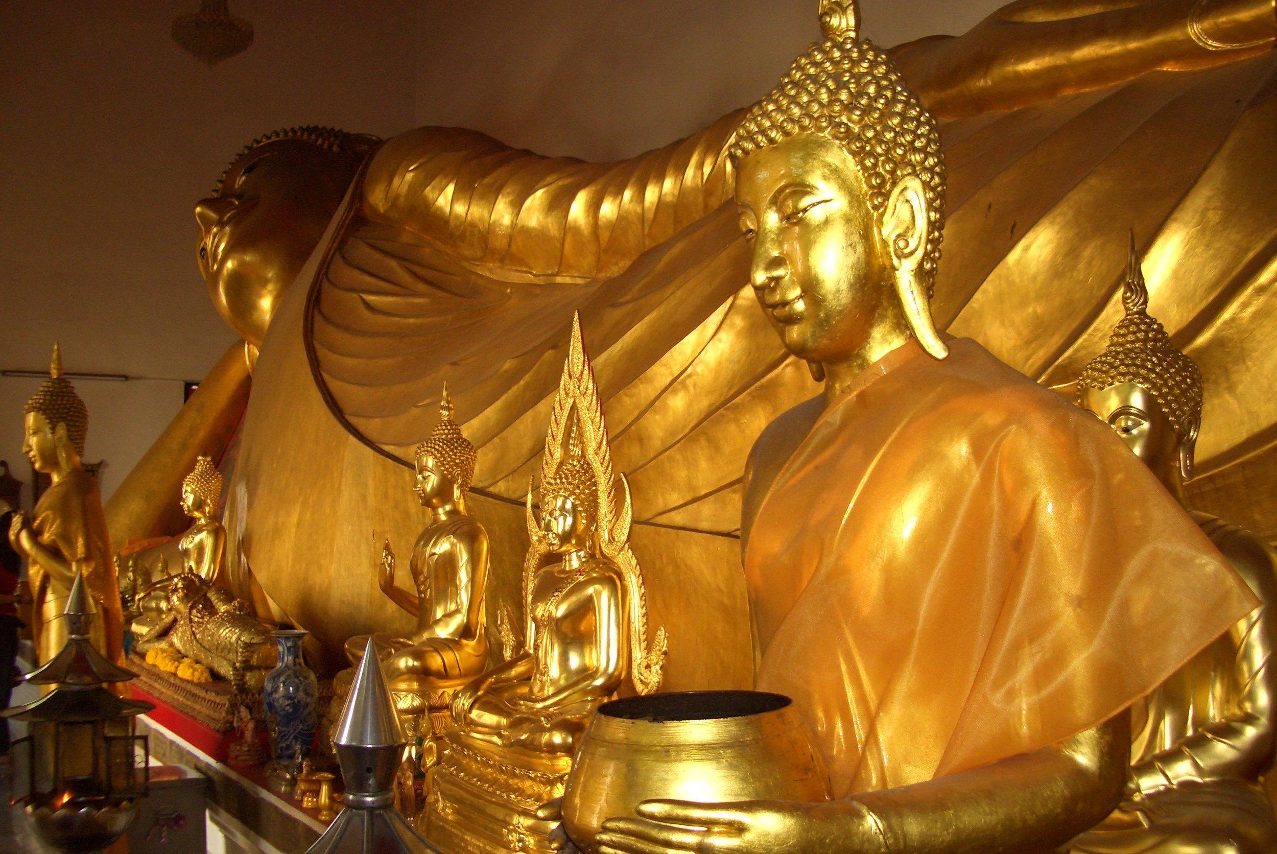 Great reclining Buddha (Bangkok, Thailand)
