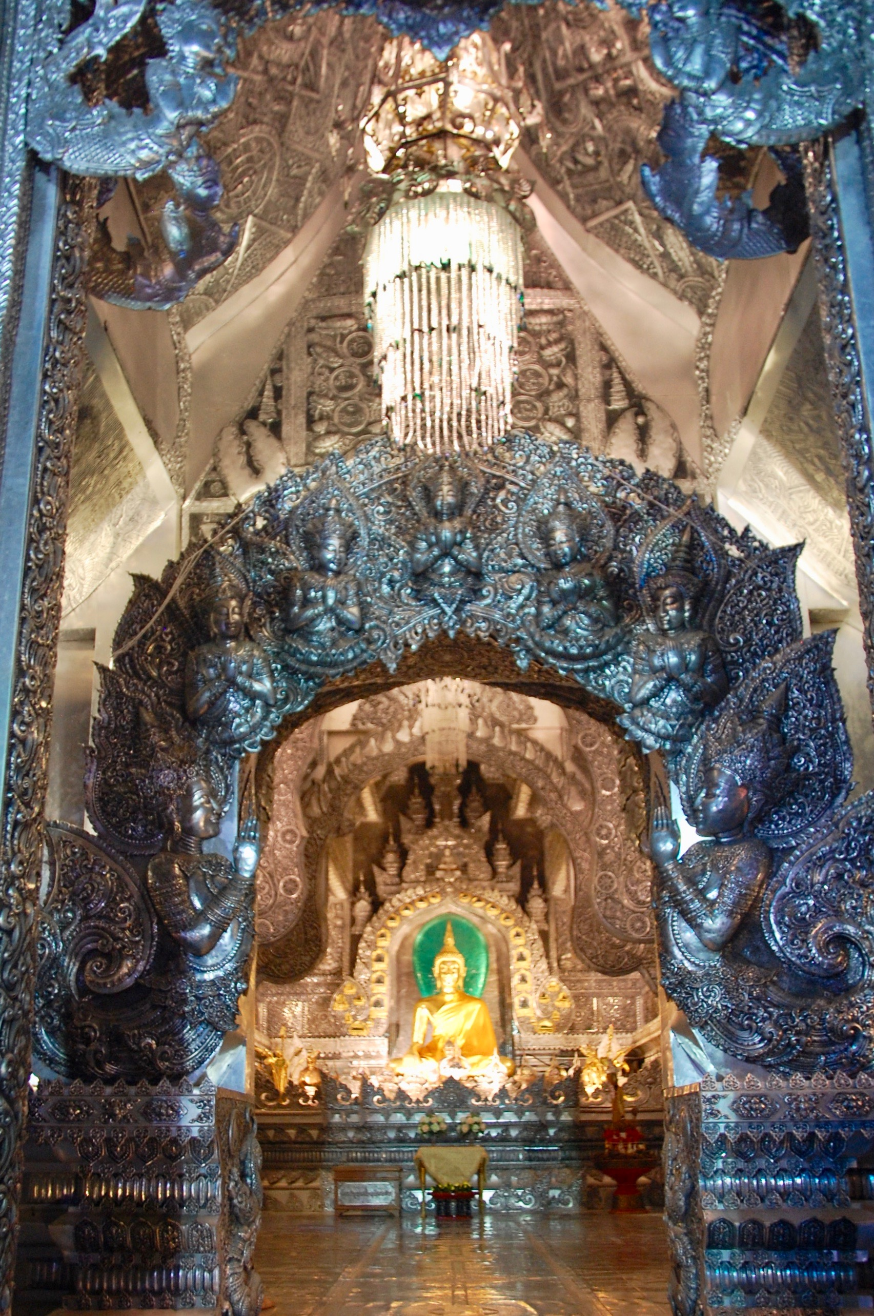 Inner sanctum of Wat Sri Suphan (Old City, Chiang Mai)
