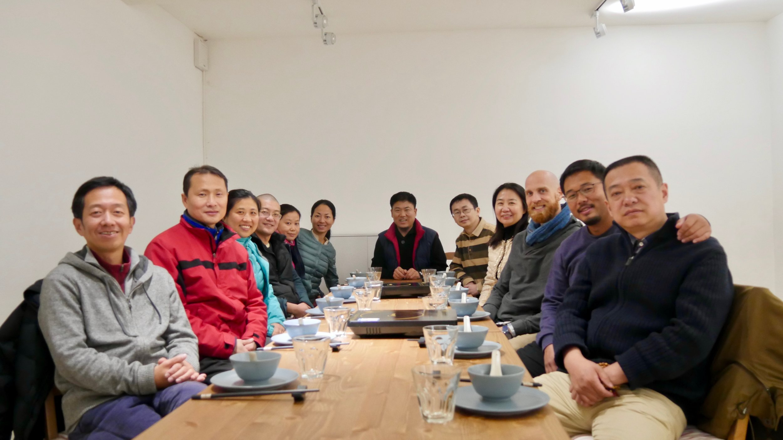 A reunion of great practitioners and friends (Beijing, China)