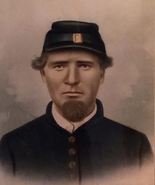 Portrait of Alvah Kirk
