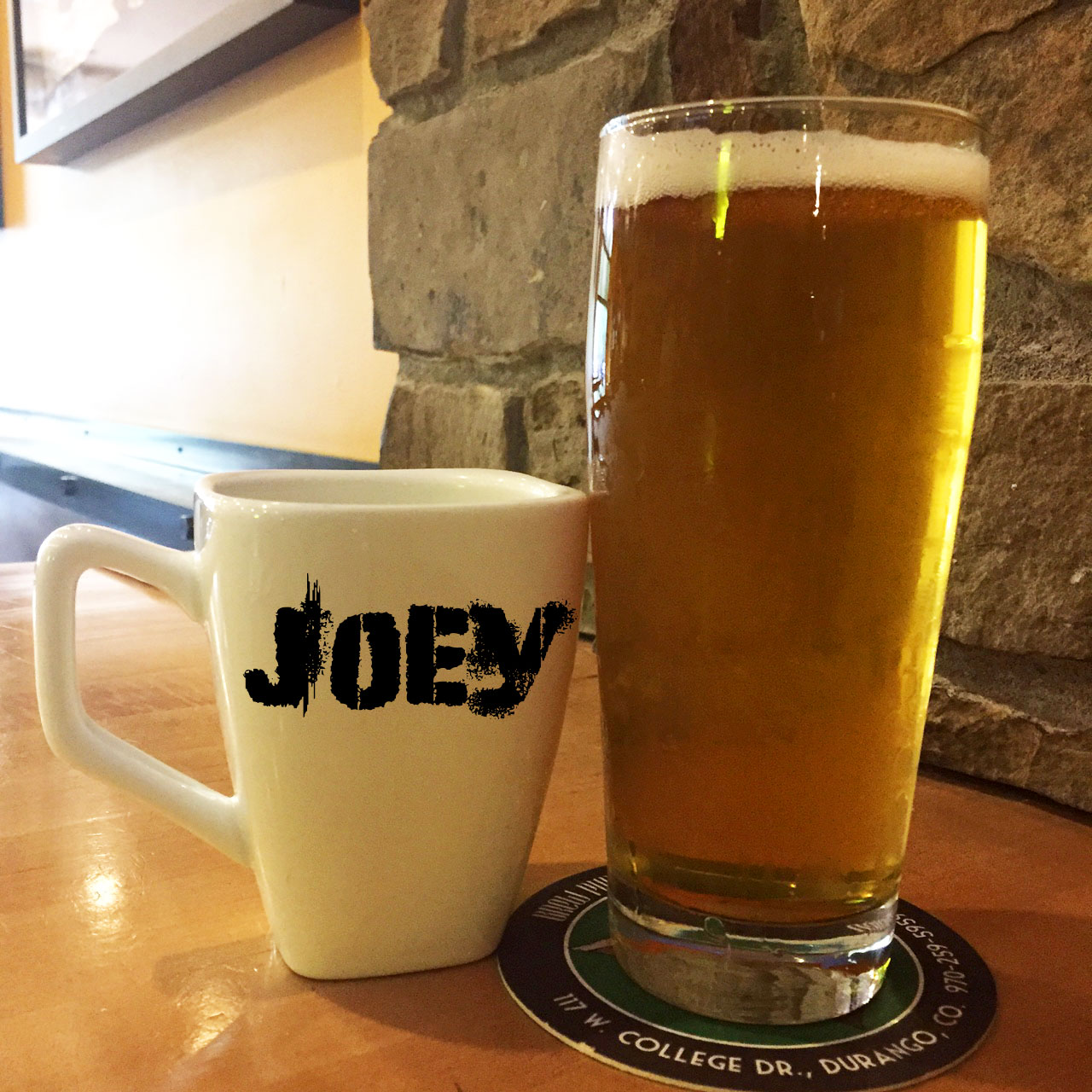 Joey - An easy drinking Kolsch with a hint of coffee5.0% ABV 20 IBU