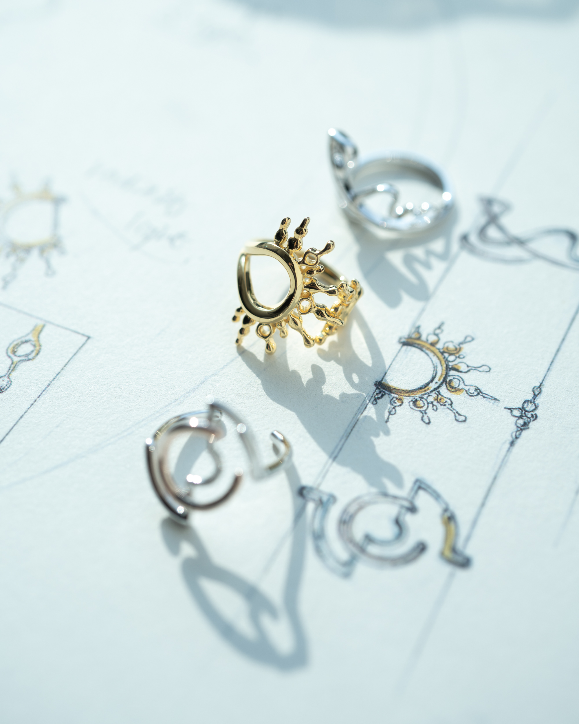 Some of GLOD's jewelry pieces can be worn in multiple ways.