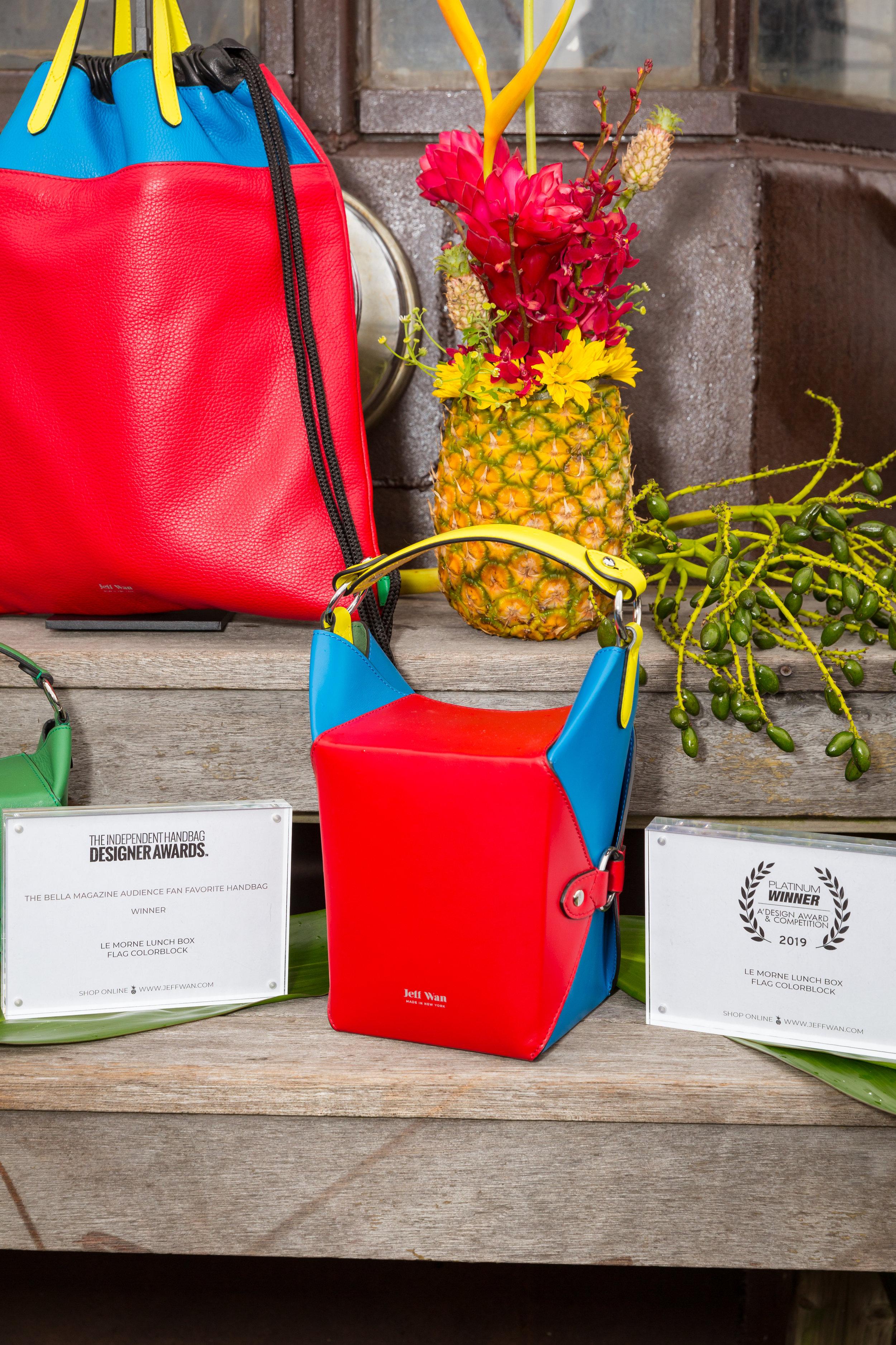 The award-winning Le Morne Lunch Box bag.