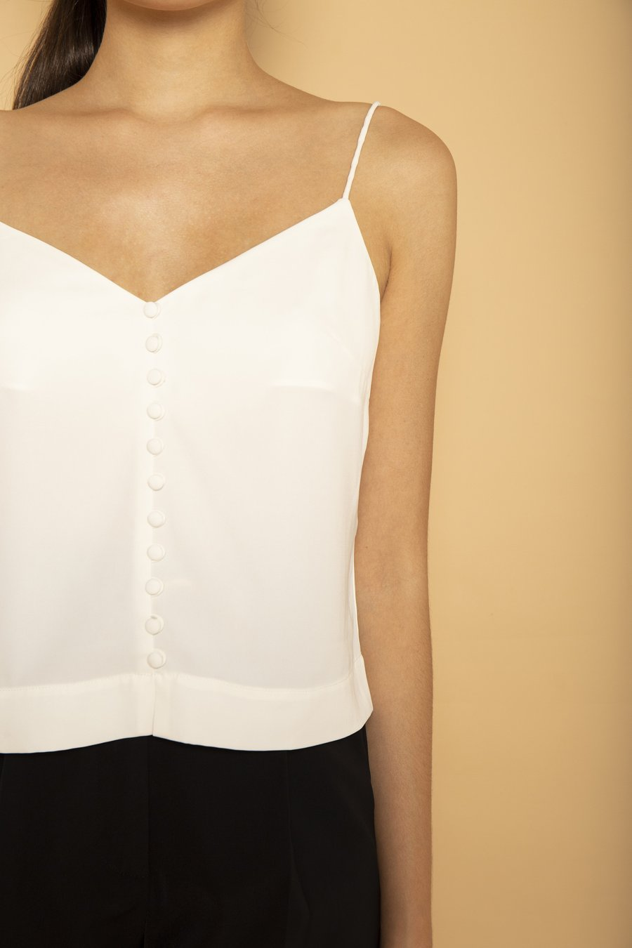 This white camisole is a must this summer. Photo: Courtesy of SOTP.