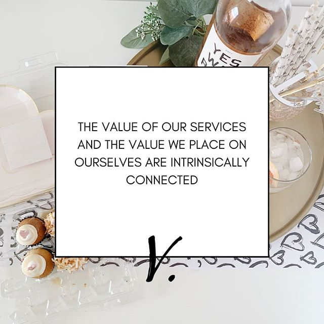 Do you under-charge for your services? If so, you likely have a low self confidence as well. Evaluate whether your prices reflect the actual value of your service or the value your inner critic has placed on YOU.