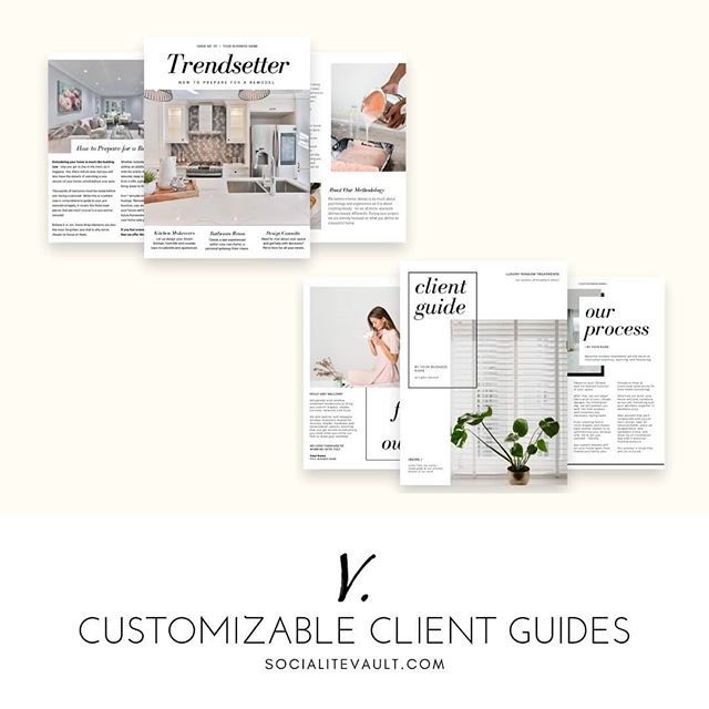 How do you welcome new clients? We create beautiful, customizable client on-boarding packets for interior designers, stagers, and workrooms.  Get a 14 day free trial at www.SocialiteVault.com