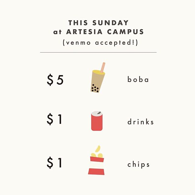 Support CCSC's Women's Ministry Fundraiser!!! They'll be selling drinks + chips this Sunday!