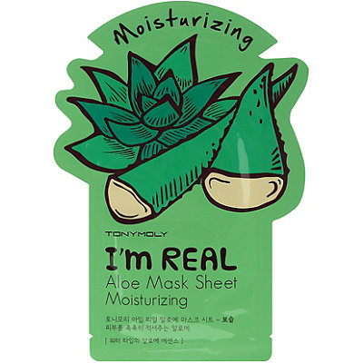 6 Products to Transition Your Skin to Cooler Weather Tony Moly I'm Real Aloe Face Mask Sheet