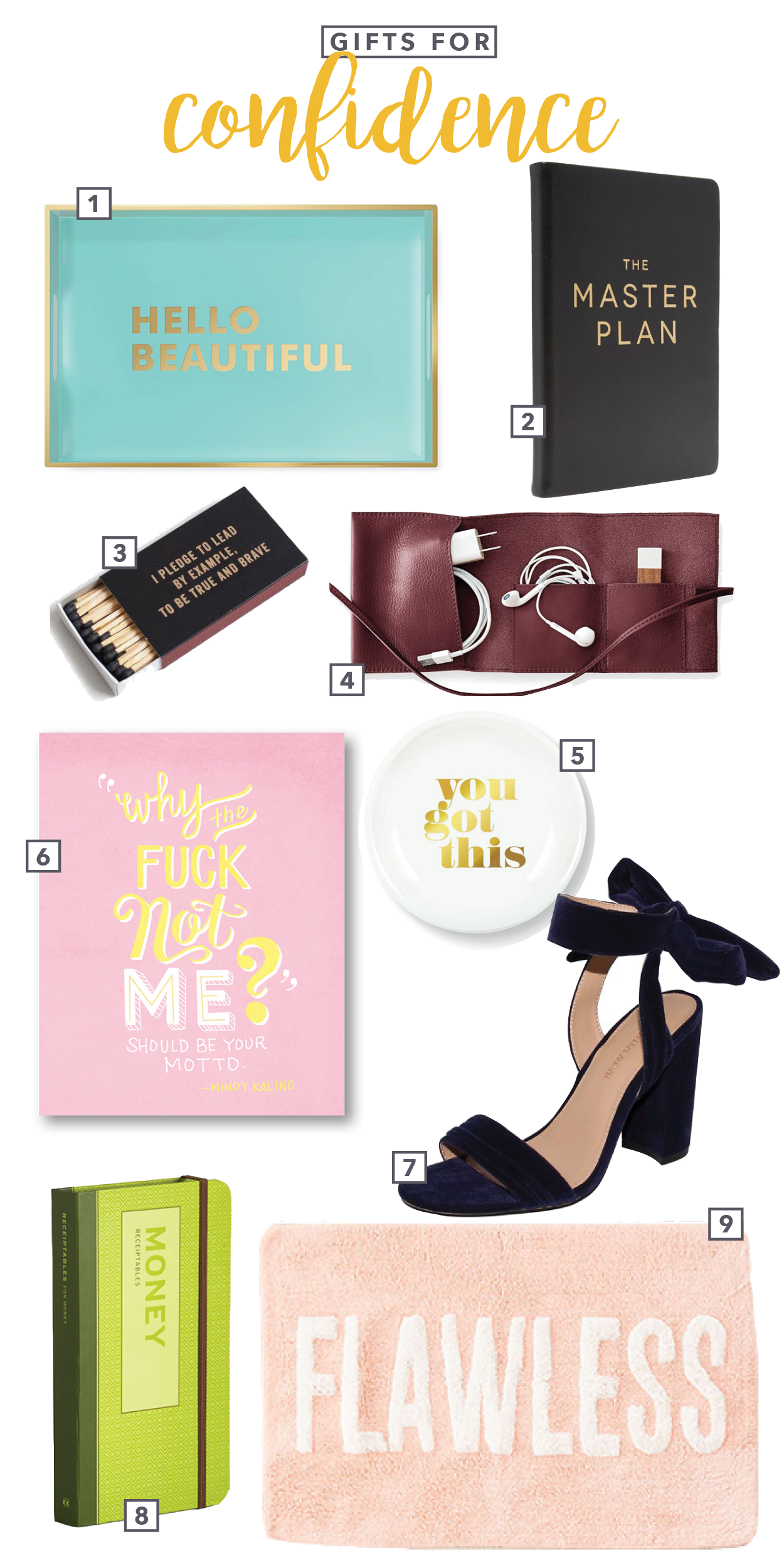 Spire & Co Gifts for Confidence