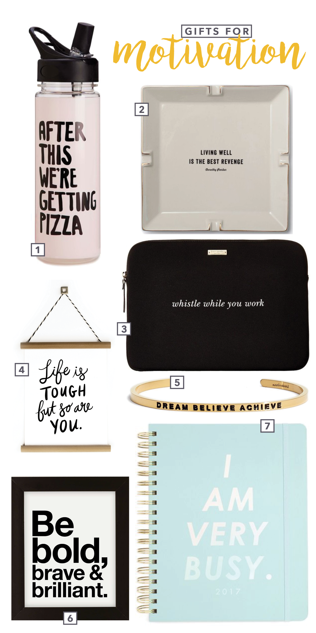 Gifts for Motivation