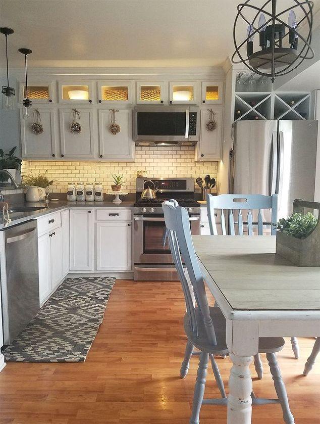 DIY Kitchen Cabinet Lighting