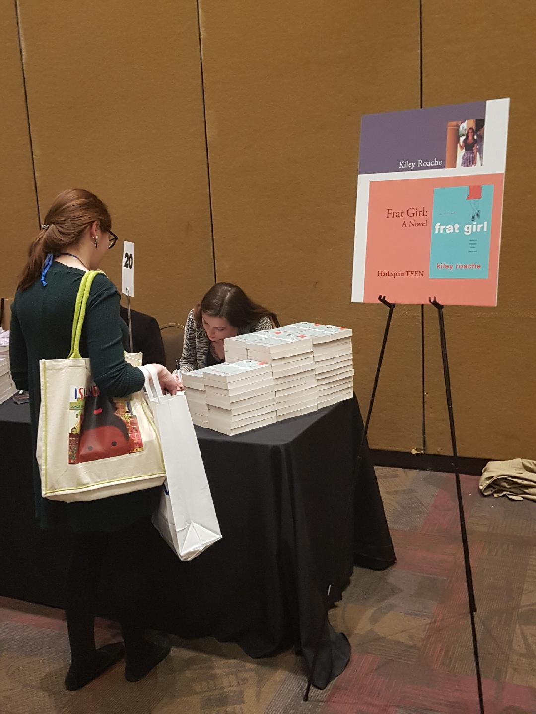 Kiley Roache Book Signing.JPG