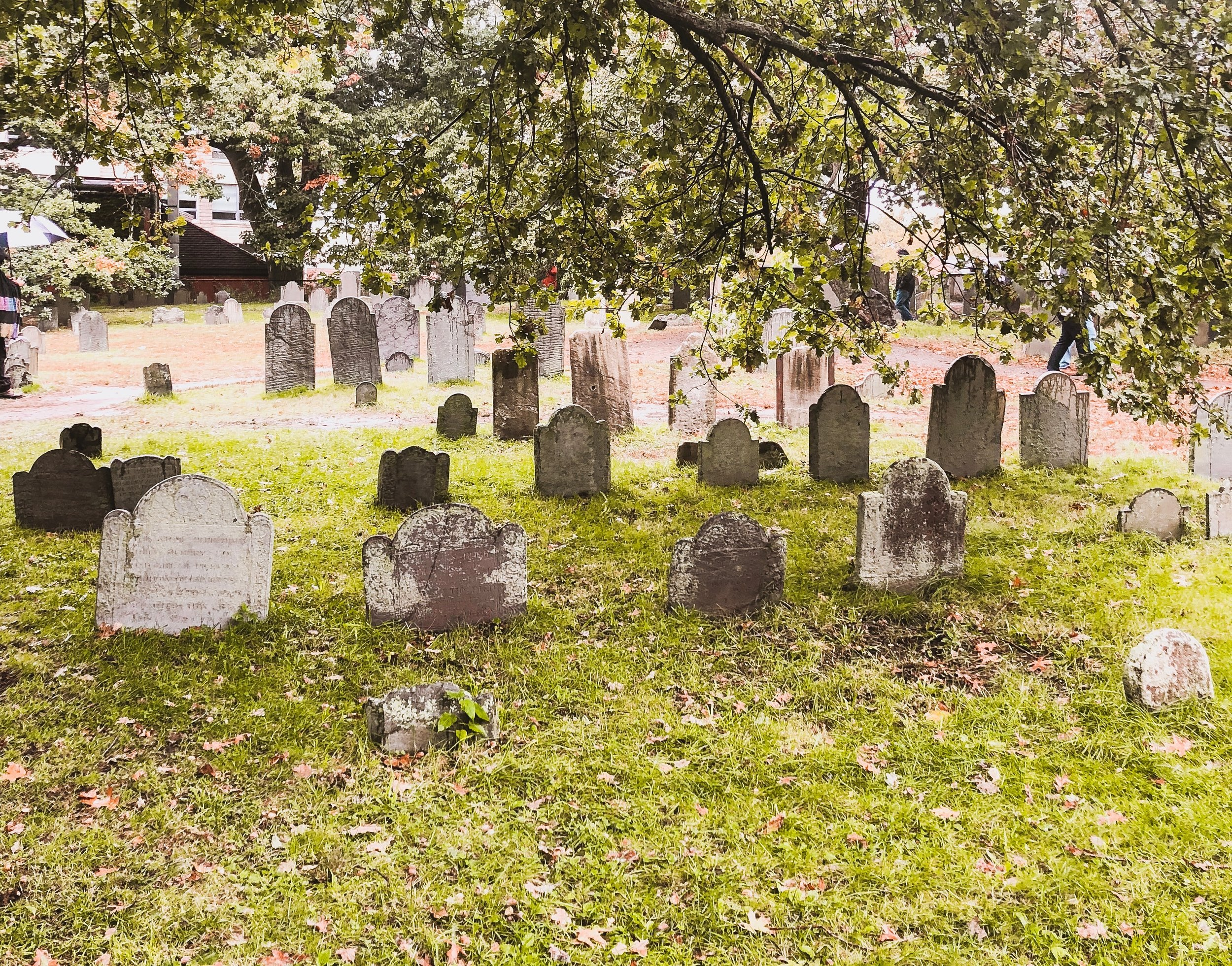 Salem, Massachusetts Travel Guide: Burying Point