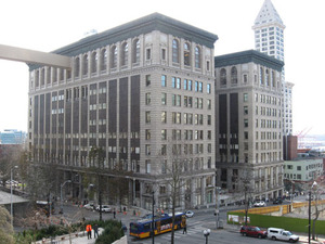 Photo: from King County courthouse home page (it looks better in these photos than in real life).