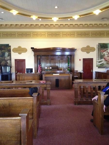 Photo: The beautiful Grays Harbor Courthouse